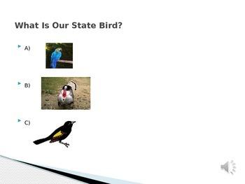 Maryland State Symbols Game