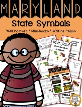 Maryland State Symbols Notebook
