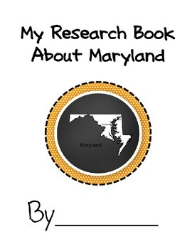 Maryland Student Research Book