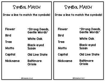 Maryland Symbols