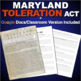 Maryland Toleration Act Worksheet - Primary Source