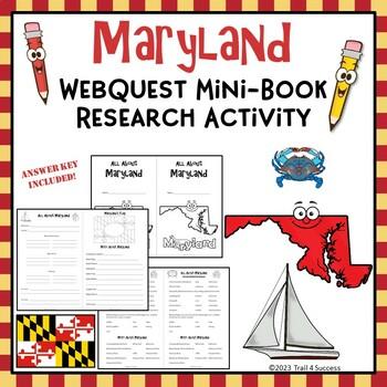 Maryland Webquest Common Core Research Mini Book