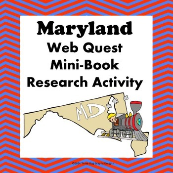 Maryland Webquest Common Core Research Mini Book