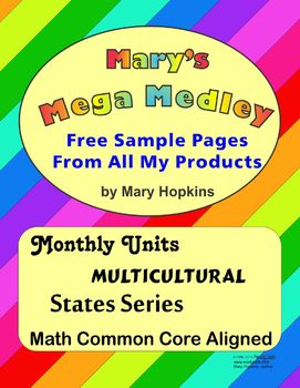 Mary's Mega Medley - Free Sample Pages