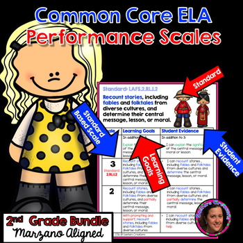 Marzano Aligned Common Core ELA Growing Bundle Performance