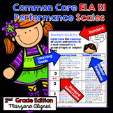 Marzano Aligned Common Core ELA RI Performance Scales 2nd Grade