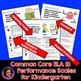 Marzano Aligned Common Core ELA Sampler Performance Scales