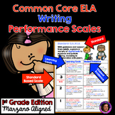 Marzano Aligned Common Core ELA Writing Performance Scales 1st Grade