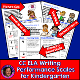 Marzano Aligned Common Core ELA Writing Performance Scales Grade K