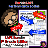 Marzano Aligned Florida LAFS Performance Scales Bundle Gr.1