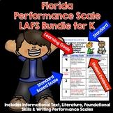 Marzano Aligned Florida LAFS Bundle Performance Scales Grade K