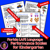 Marzano Aligned Florida LAFS Language Performance Scales Grade K