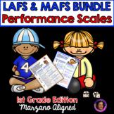 Marzano Aligned Florida LAFS & MAFS Bundle Performance Scales 1st Grade