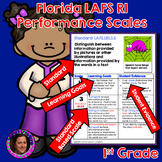 Marzano Aligned Florida LAFS RI Performance Scales 1st Grade