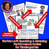 Marzano Aligned Florida LAFS Speaking & Listening Performance Scales Grade K
