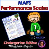 Marzano Aligned Florida MAFS Performance Scales Kindergarten