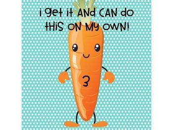 Marzano Carrot Tracking Poster