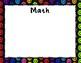 Marzano Classroom Poster Set Write/Wipe Dark Dots Theme