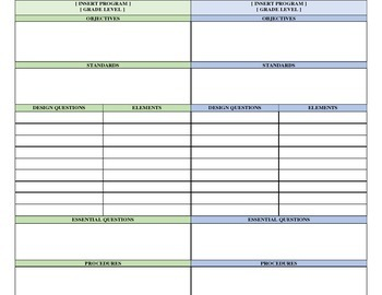 template template of a lesson plan general marzano kindergarten