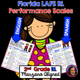 Marzano Florida LAFS RL Performance Scales 2nd Grade Dual Language Edition