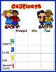 Marzano Florida LAFS RL & RI Performance Scales 2nd Grade Dual Language Edition