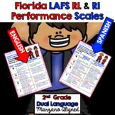 Marzano Florida LAFS RL & RI Performance Scales 2nd Grade