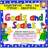 Goals and Scales for Kindergarten {Math, Kid Friendly, Pic