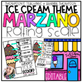 Marzano Scale Rubric and STUDENT SELF-ASSESSMENT