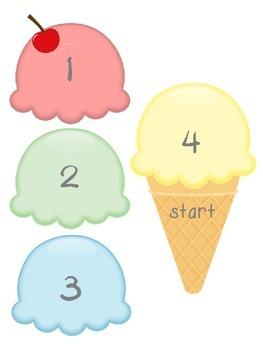 Marzano Ice Cream Sliding Learning Scale