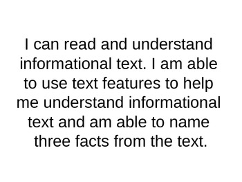 Marzano Informational Text Learning Scale