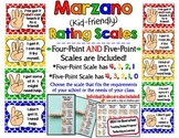 Marzano Kid-Friendly Rating Scales - Primary Colors