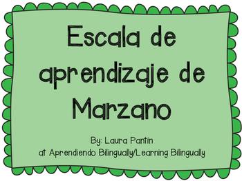 Marzano Learning Scale