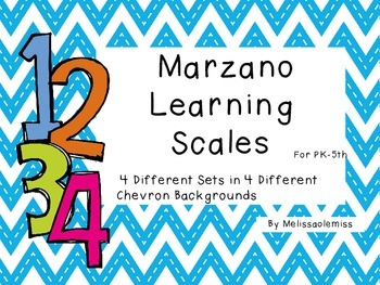 Marzano Learning Scales