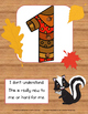 Marzano Learning Scales: Woodland Forest Fall Autumn Theme