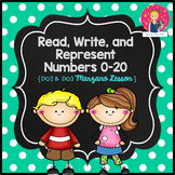 Numbers to 20 Lesson for Kindergarten