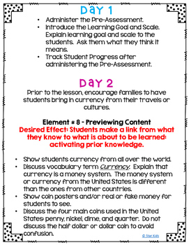 Money Lesson Plan {Bundled}