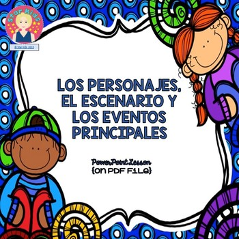 Marzano Lesson in SPANISH {Characters, Setting, and Major Events -RL.K.3}