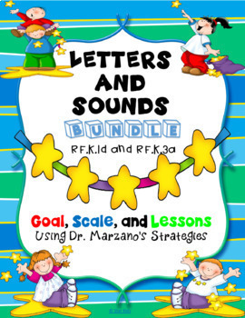 Marzano Reading Lessons and Units BUNDLE for Kindergarten