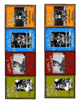 Marzano Levels of Understanding Muhammad Ali Poster Set