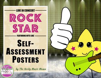 Self-Assessment Posters ROCK STAR