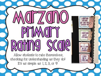 Marzano Primary Rating Scale