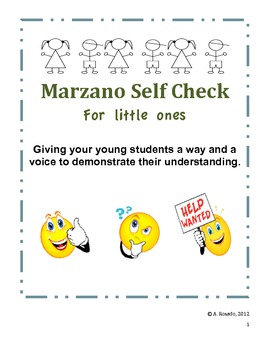 Marzano Primary Self-Check Rating Scale