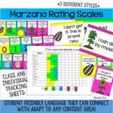 Marzano Rating Scale and Tracking Pack