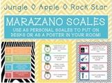 Marzano Scale (Three Themes!)