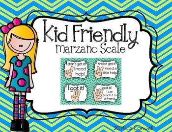Marzano Scale