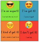Marzano Scale Emoji (class & individual)