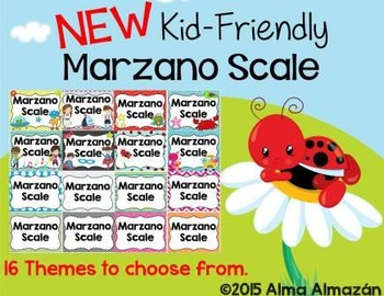 Marzano Scale Kid Friendly New 16 Sets