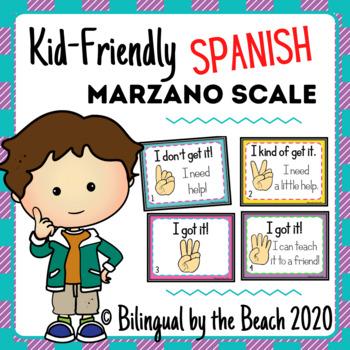 Marzano Scale-Kid Friendly Spanish Version