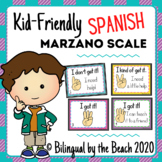 Marzano Scale-Kid Friendly to Check for Understanding SPANISH