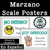 FREEBIE: Marzano Scale in Spanish
